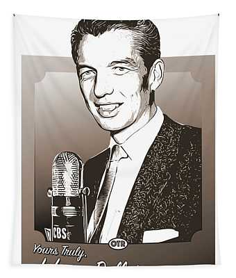 Johnny Dollar Tapestry