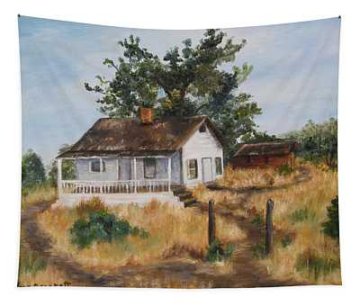 Johnny's Home Tapestry