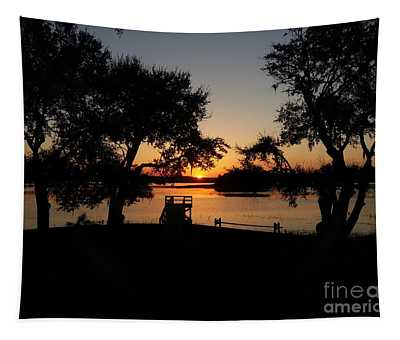 Johns Island Sunset Tapestry