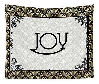 Joy - Art Deco Tapestry