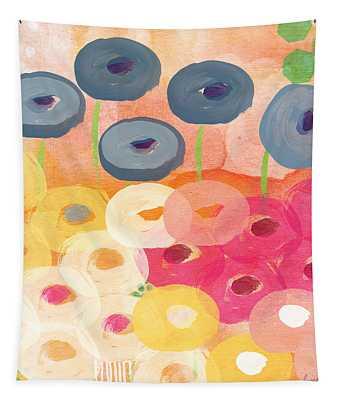 Joyful Garden 3 Tapestry