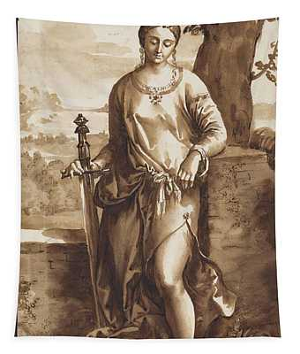 Judith With The Head Of Holophernes Tapestry