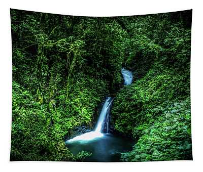 Jungle Waterfall Tapestry