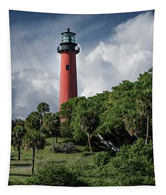 Jupiter Inlet Lighthouse Tapestry