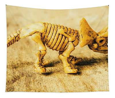 Jurassic Toy Triceratops Tapestry