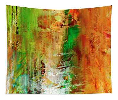 Just Being - Abstract Art Tapestry