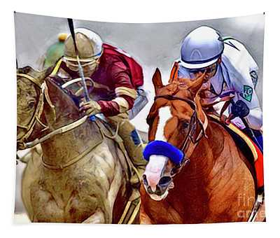 Justify In The Lead Tapestry