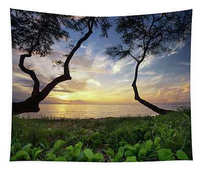 Ka'anapali Sunset Tapestry