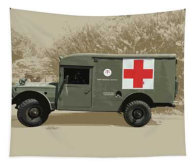 Kaiser Jeep M725 Army Tapestry