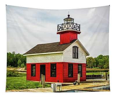 Kalamazoo Lighthouse Tapestry
