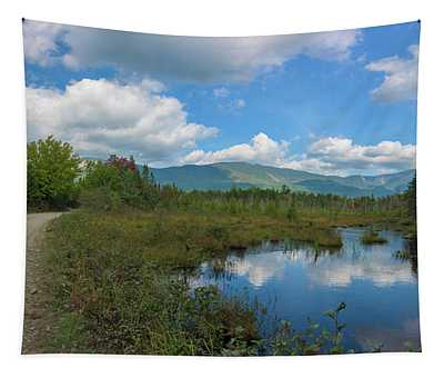 Katahdin In The Clouds Tapestry