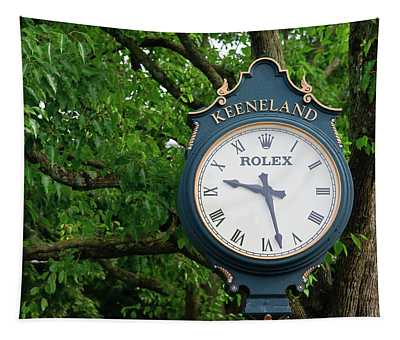 Keeneland Clock Tapestry