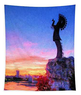 Keeper Of The Plains Tapestry