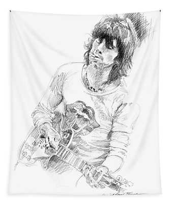 Keith Richards Exile Tapestry