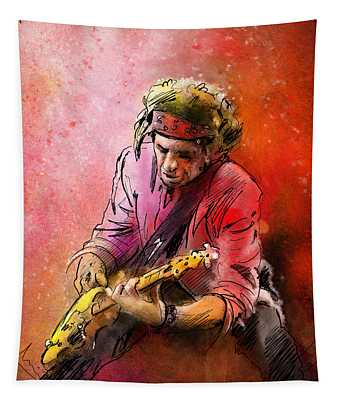 Keith Richards Tapestry