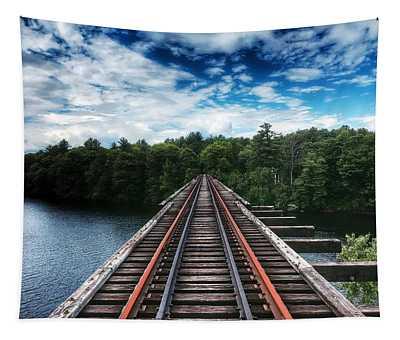 Kennebec River Trestle Tapestry