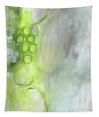 Kensho- Abstract Art By Linda Woods Tapestry