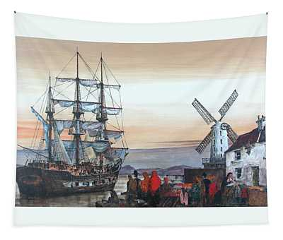 Ireland Canada Links.. Kerry.  The Jeanie Johnston Famine Ship In Blennerhasset.  Tapestry