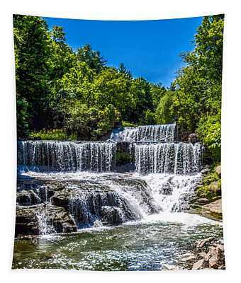 Keuka Outlet Waterfall Tapestry