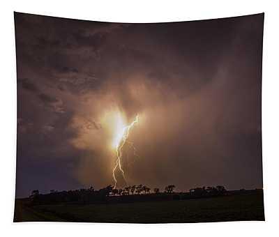 Kewl Nebraska Cg Lightning And Krawlers 014 Tapestry