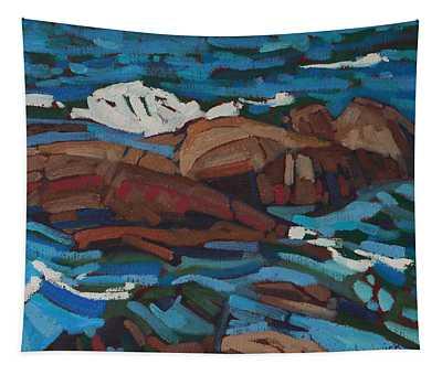 Killarney Red Rocks Tapestry