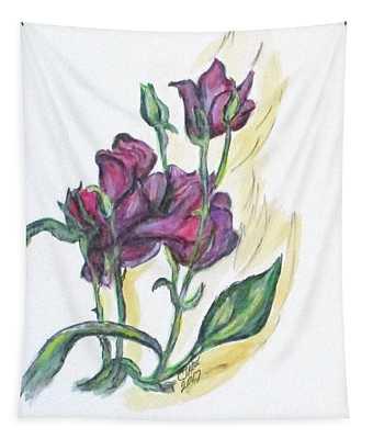 Kimberly's Spring Flower Tapestry