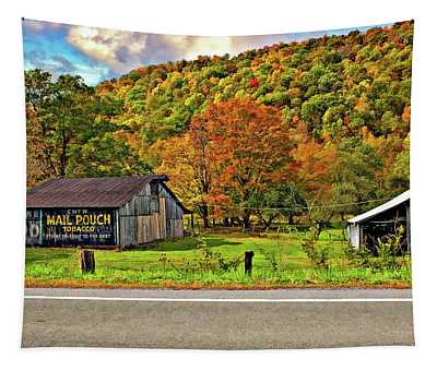 Kindred Barns Tapestry