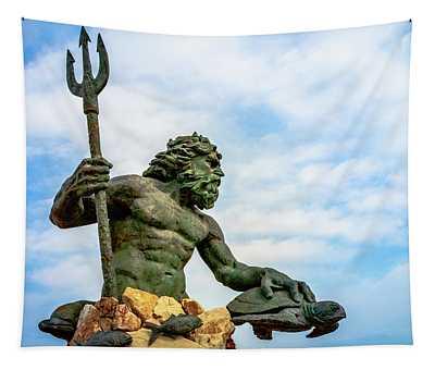 King Neptune Tapestry