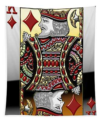 King Of Diamonds   Tapestry