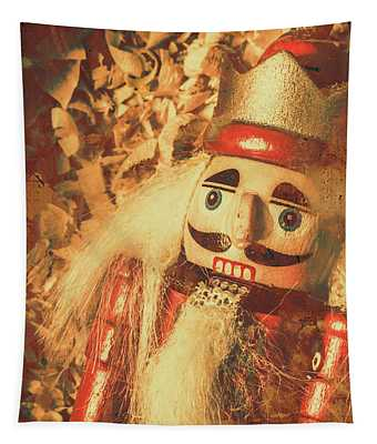 King Of The Toy Cabinet Tapestry