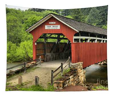Kings Covered Bridge Somerset Pa Tapestry