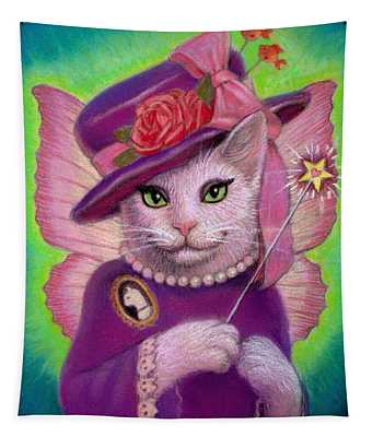 Kitty Fairy Godmother Tapestry