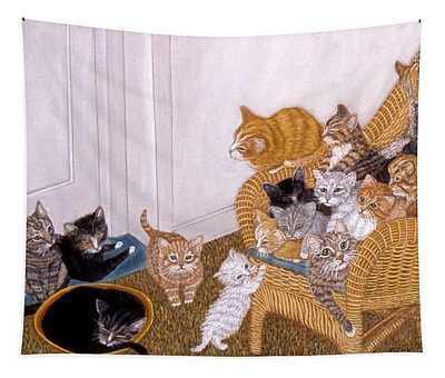 Kitty Litter II Tapestry