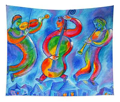 Klezmer On The Roof Tapestry