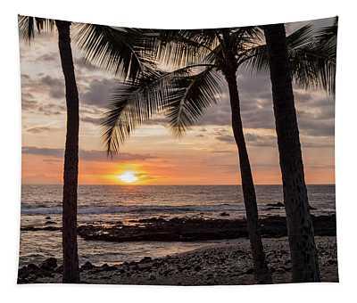 Kona Sunset Tapestry