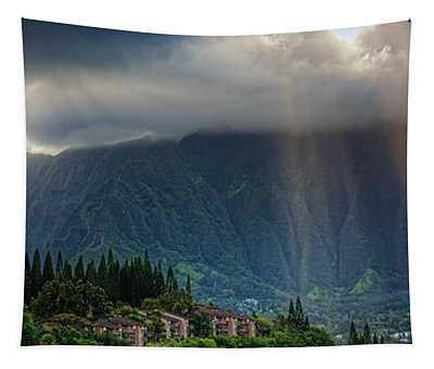 Koolau Sun Rays Tapestry