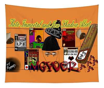 Koto Immortal And New Shadow Alert Artwork Tapestry