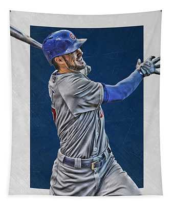 Kris Bryant Chicago Cubs Art 3 Tapestry