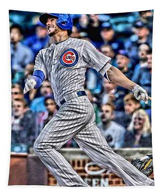 Kris Bryant Chicago Cubs Tapestry