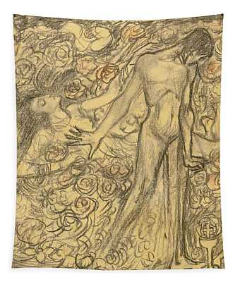 Kundry And Parsifal Tapestry