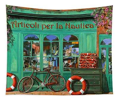 La Bicicletta Rossa Tapestry