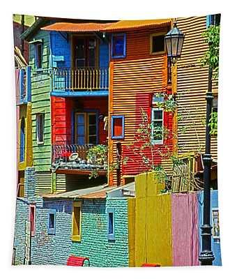 La Boca - Buenos Aires Tapestry