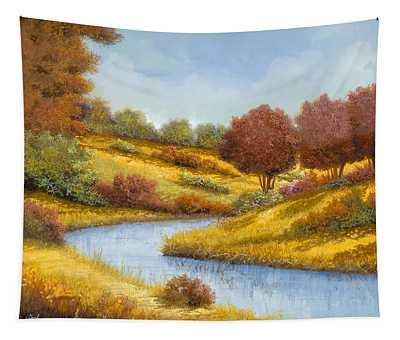 La Curva Del Fiume Tapestry