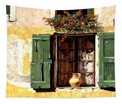 la finestra di Sue Tapestry