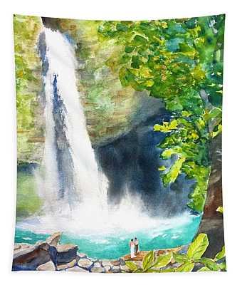 La Fortuna Waterfall Tapestry