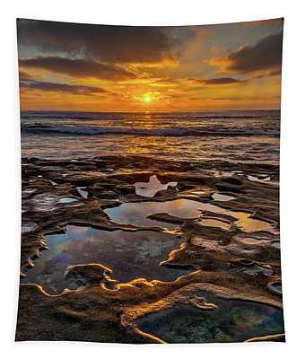 La Jolla Tidepools Tapestry