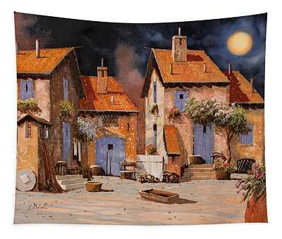 La Luna Gialla Tapestry