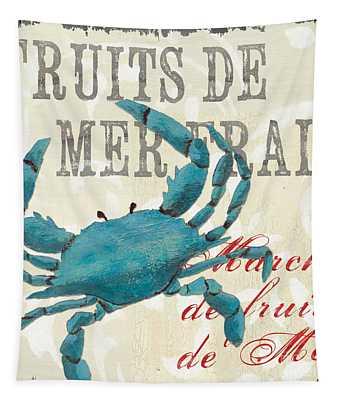 La Mer Shellfish 1 Tapestry