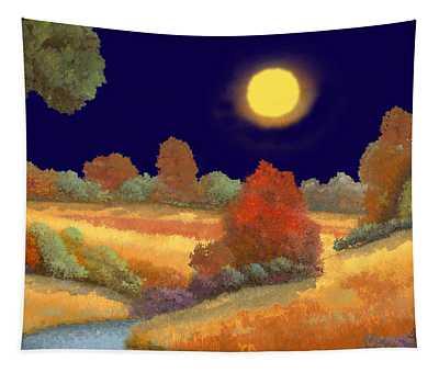 La Musica Della Notte Tapestry