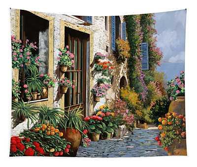 La Strada Del Lago Tapestry